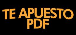 Te Apuesto PDF